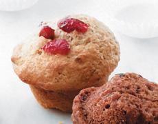 Gluten Free Cranberry Flax Muffins